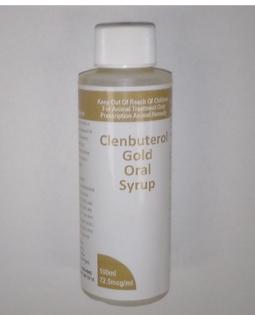 Clenbuterol Gold Oral Syrup, 72.5mcg/ml, 100ml
