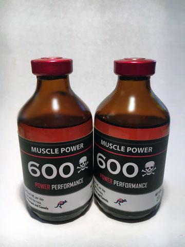 MUSCLE POWER 600 – 50 ML