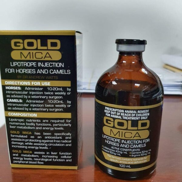 Gold Mica Injection