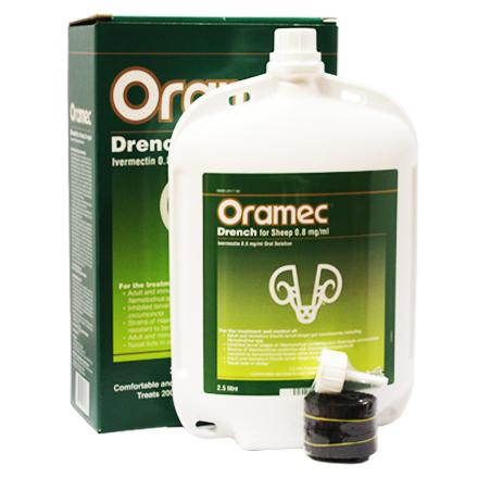 ORAMEC 0.8MG / ML 5L