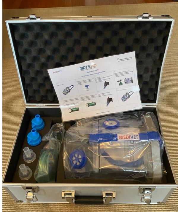 MPTS 360 Oxygen Nebuliser